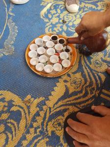 Café nubien à Amada