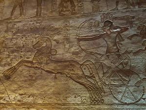 La bataille de Kadesh Abou simbel