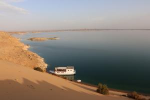 Tea time sur le lac Nasser